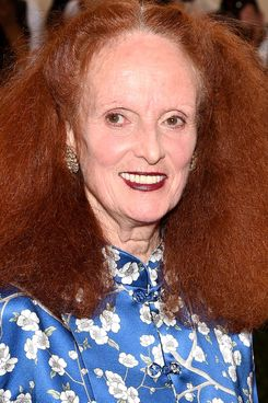 Don't worry, Grace Coddington isn't going anywhere.