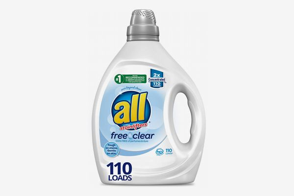 All Free Clear 2x Concentrated Laundry Detergent, 82.5 Ounces