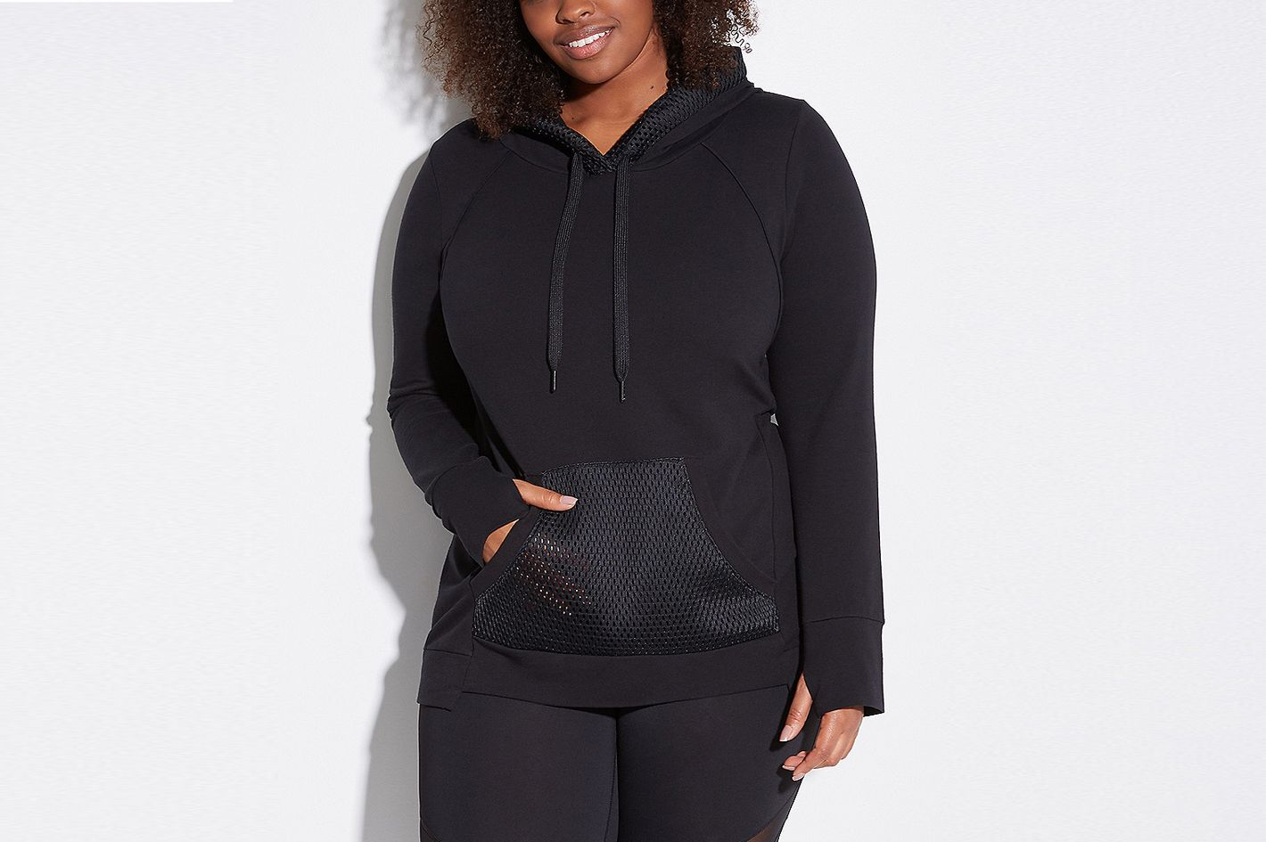 Spa Active Hoodie with Mesh