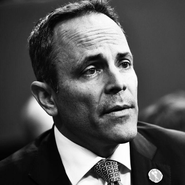 Former Kentucky Governor Matt Bevin.