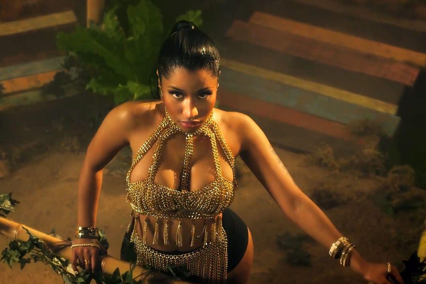 Nicki Minaj's 'Anaconda' Video Is Not Pandering to the Male Gaze