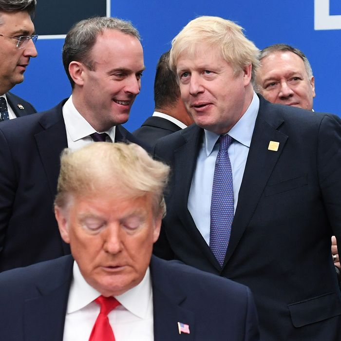 President Donald Trump at the December 2019 NATO summit.