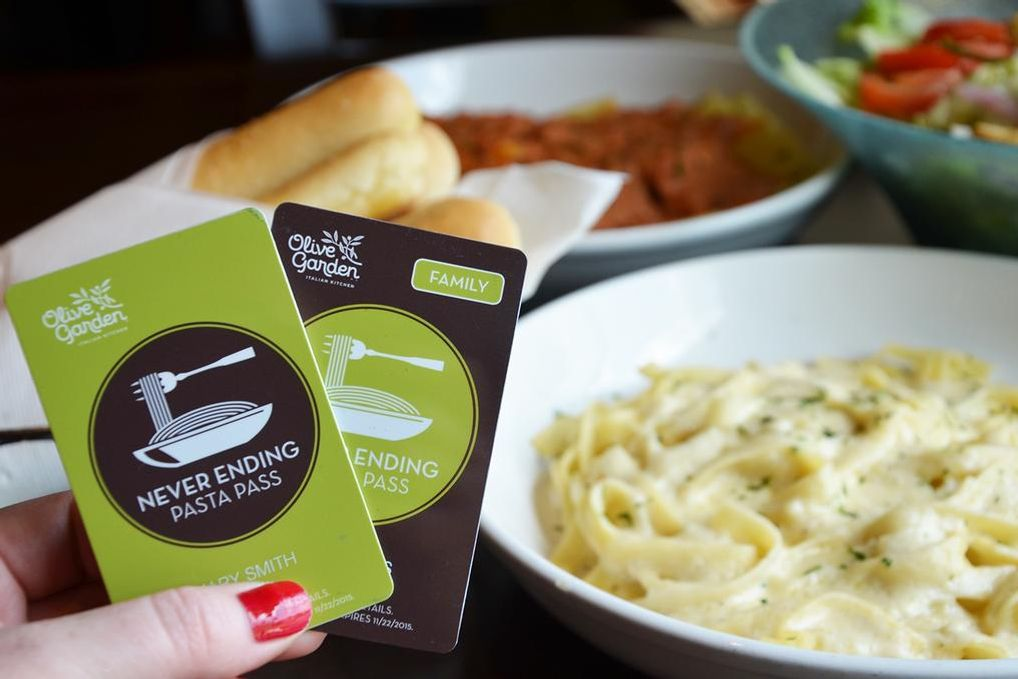 Because America Demanded It, Olive Garden\'s Endless Pasta Pass Is Back