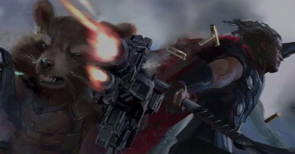 Avengers Infinity War Details From The Secret Trailer