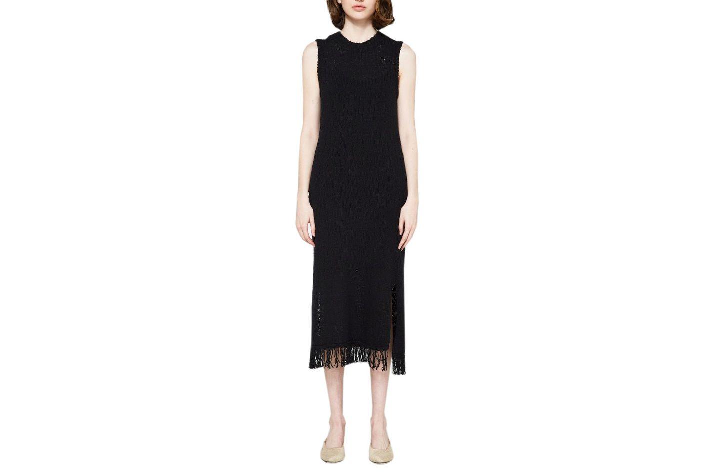 Callahan Fringe Column Dress
