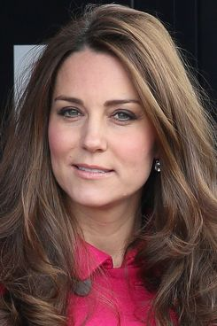 Kate Middleton, natural model.