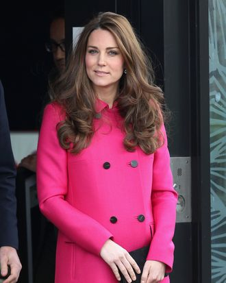 Kate Middleton, natural model.
