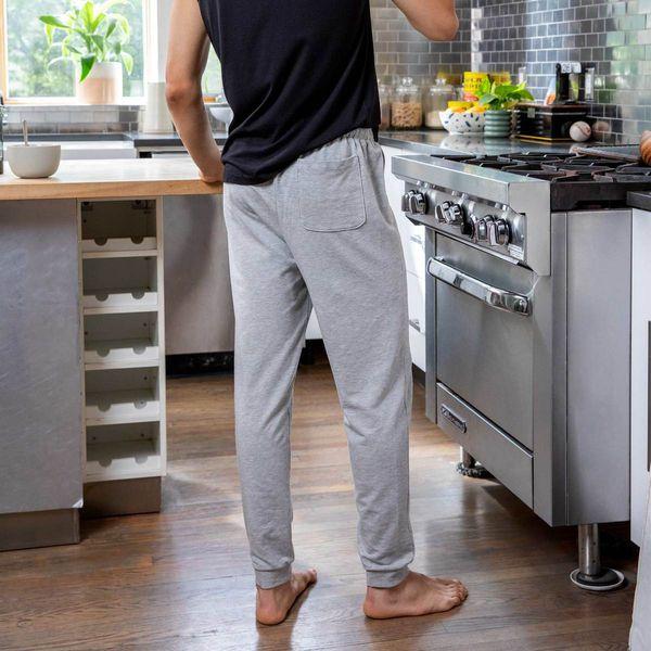 gray mens brooklinen jogger