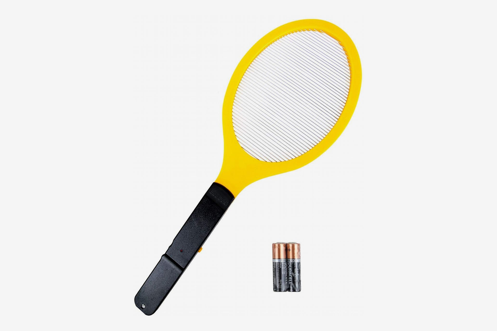 Elucto Large Electric Bug Zapper Racket (2 Duracell AA Batteries Included)