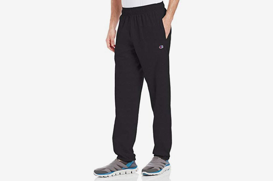 86b9a9453 Champion Men's Closed Bottom Light Weight Jersey Sweatpant