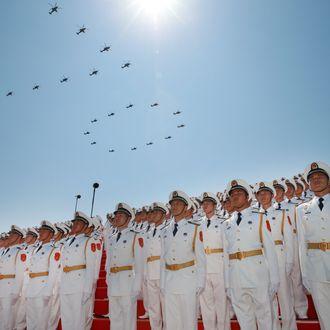 [FOCUS]CHINA-BEIJING-V-DAY PARADE (CN)