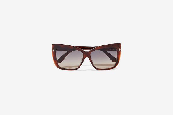 Tom Ford Irina Square-frame Acetate Sunglasses