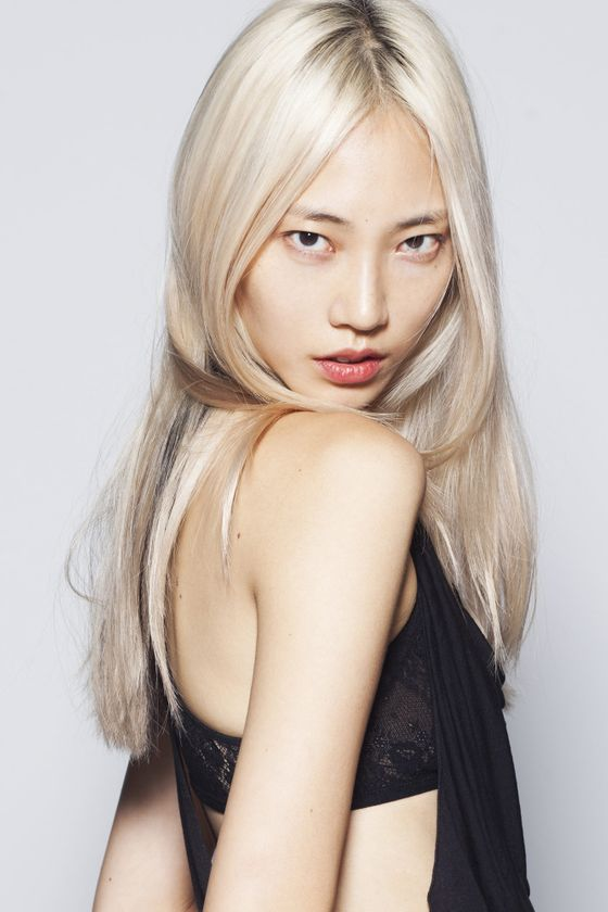 Fashion week Soo joo face new park redken for woman