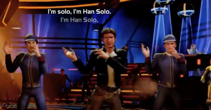 Image result for I'm han solo just dance star wars