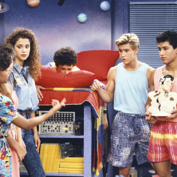 Saved by the Bell, back in the '90s.