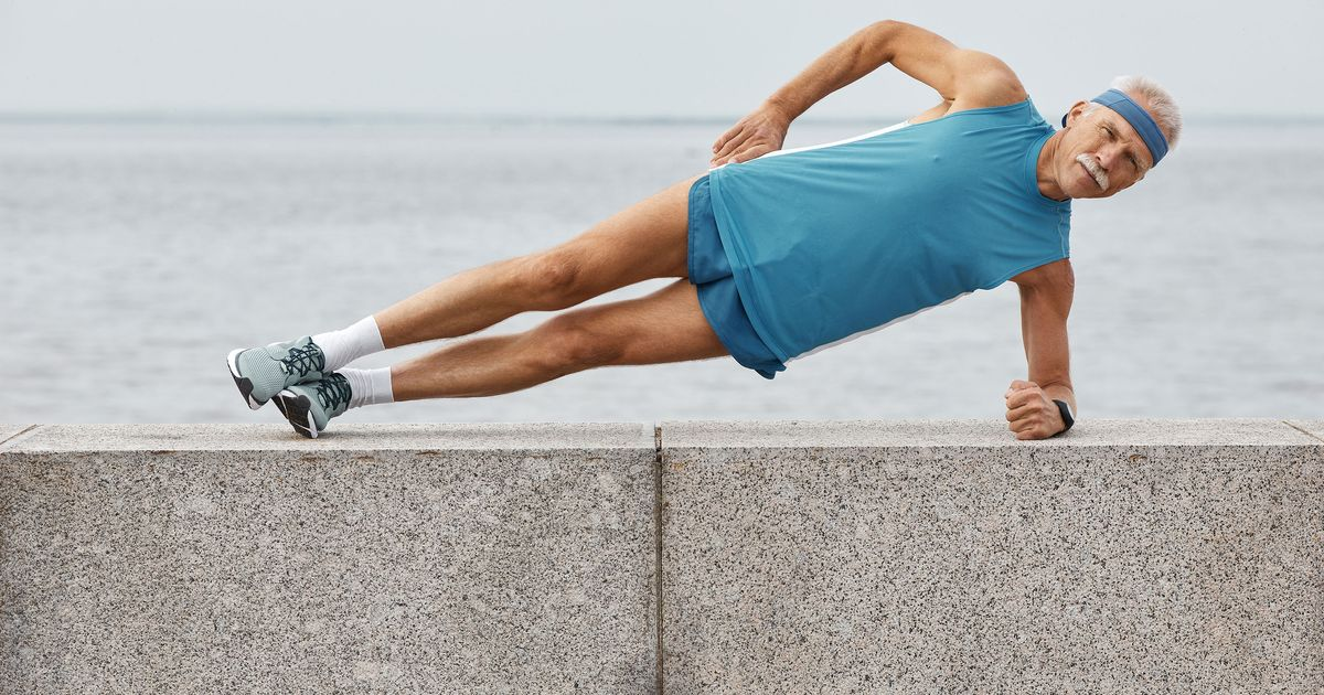 Can You Imagine Holding Plank Pose for 8 Hours?