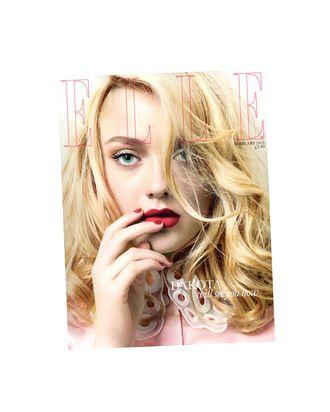 Dakota's <em>Elle</em> UK cover.