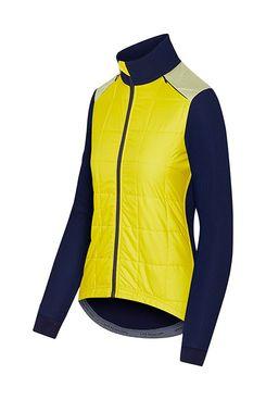 Café Du Cycliste Women's Leonie Jacket, Yellow