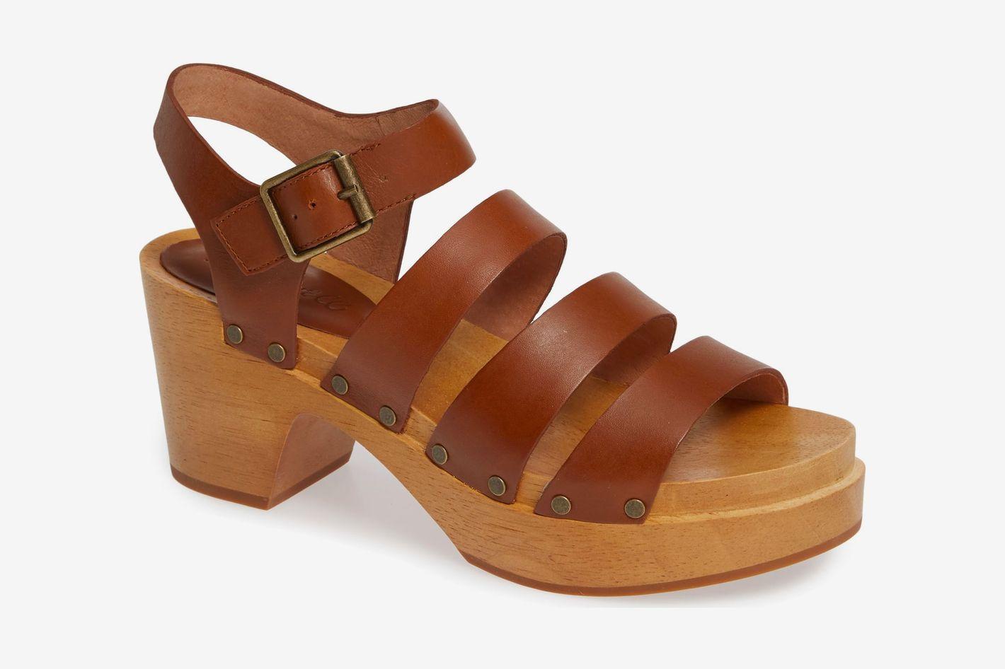 Madewell Clog Platform Sandal