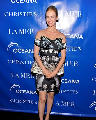 Actress January Jones attends the