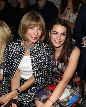 Anna Wintour and daughter Bee Shaffer.