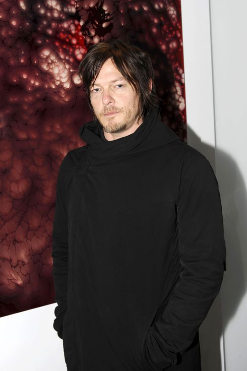 "Norman Reedus==The Cinema Society & Montblanc host the after party for Fox Searchlight Pictures' ""Trance""==497 Greenwich Street, NYC==April 02, 2013==?Patrick McMullan==Photo - CLINT SPAULDING/PatrickMcMullan.com== =="