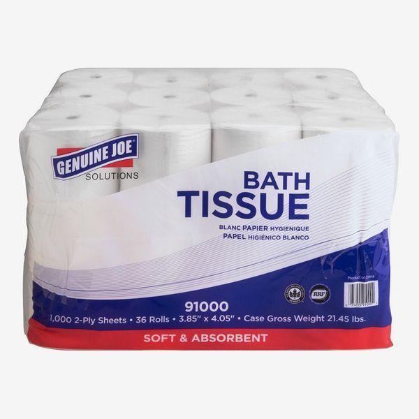 Genuine Joe Solutions Double Capacity 2-ply Bath Tissue (36/Carton)
