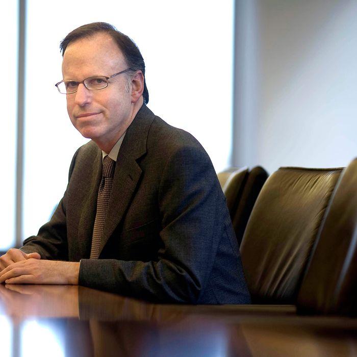Steve Davis of Dewey & LeBoeuf LLP in New York, U.S. April 8, 2007.