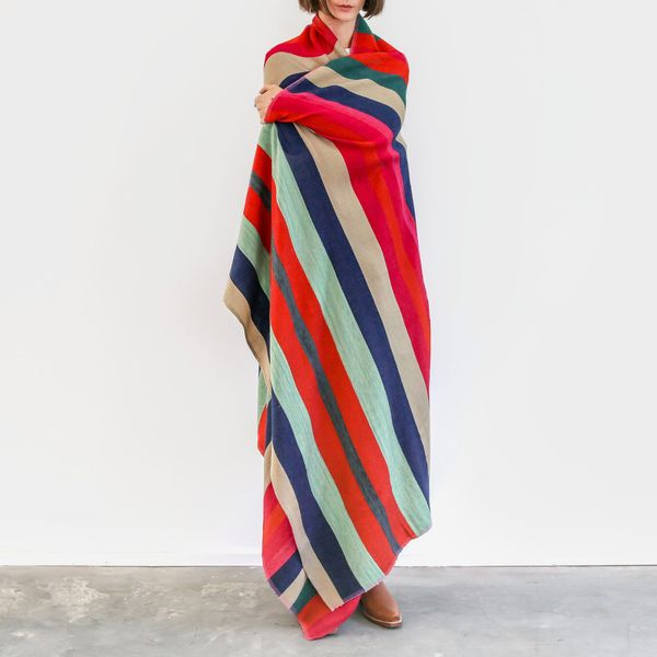 Garza Marfa Desert Blanket in Indigo
