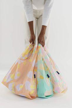 BAGGU Reusable Shopping Bag Tote, 3-Pack
