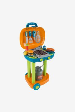 Pretend Play BBQ Grill Toy Kitchen Set