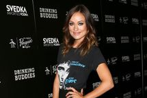 "Actress Olivia Wilde attends the screening of Magnolia Pictures' ""Drinking Buddies"" at the ArcLight Cinemas on August 15, 2013 in Hollywood, California."