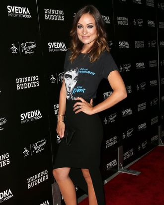 Actress Olivia Wilde attends the screening of Magnolia Pictures'