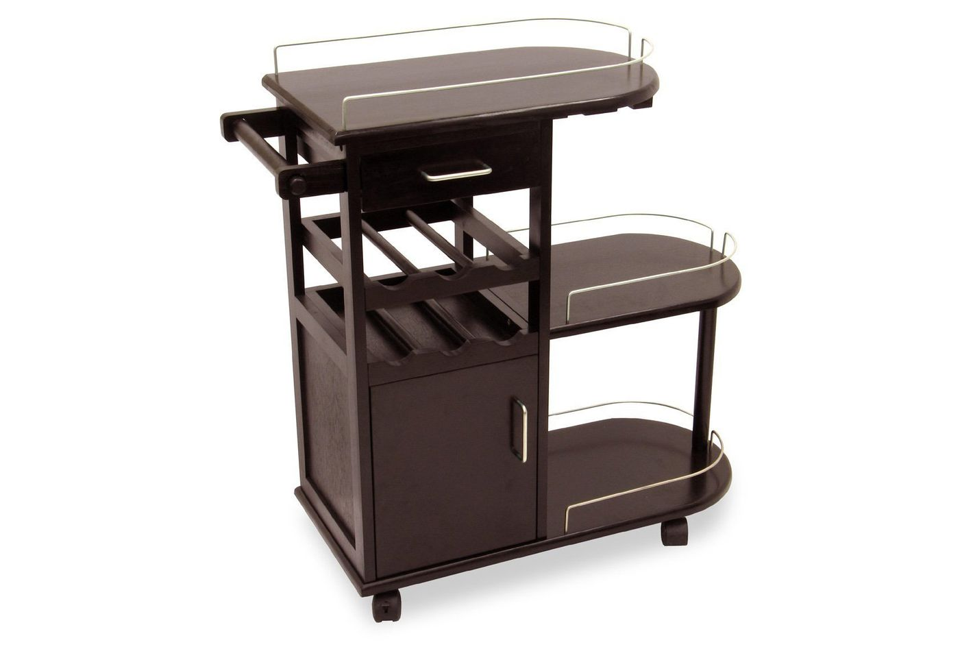 Best Bar Cart With Cabinets