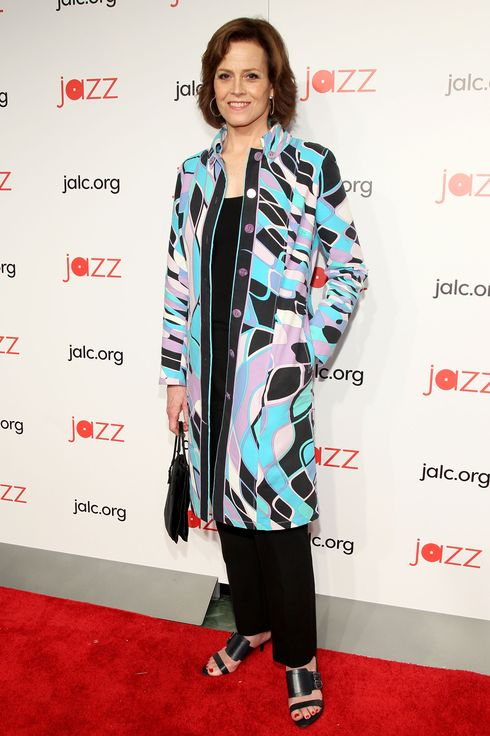 NEW YORK, NY - MAY 01:  Sigourney Weaver attends the 2014 Jazz at Lincoln Center Gala hosted by Billy Crystal at Time Warner Center on May 1, 2014 in New York City.  (Photo by Steve Mack/FilmMagic)