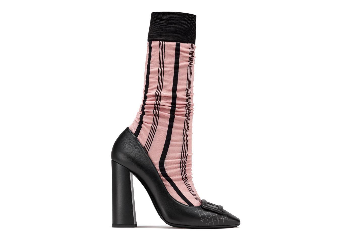Boudoir Silk Sock