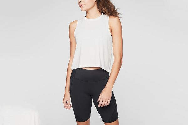 Athleta Studio Crop Tank Top