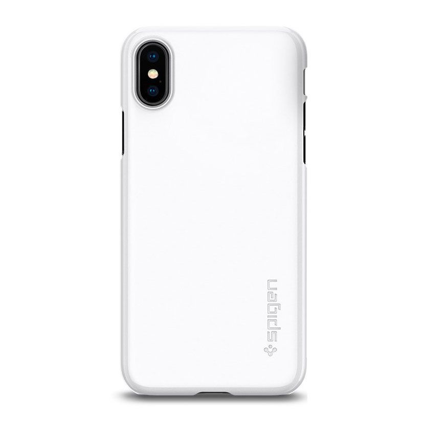 Spigen Thin Fit iPhone X Case with Premium Coating