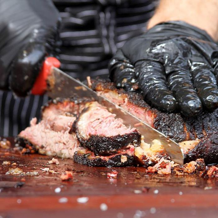 They do make brisket slicing look a lot more awesome.