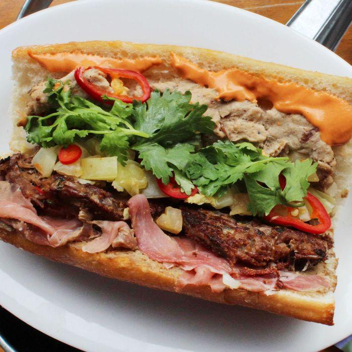 Marietta's Knuckle Sandwich, a
