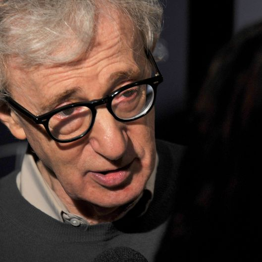 "NEW YORK, NY - MAY 17:  Director Woody Allen attends The Cinema Society & Thierry Mugler screening of ""Midnight in Paris"" at Tribeca Grand Screening Room on May 17, 2011 in New York City.  (Photo by Stephen Lovekin/Getty Images)"