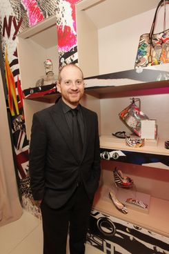 "Joshua Schulman attends the launch of ""Project Pep"" to Benefit The Elton John Aids Foundation"