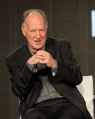 Director Werner Herzog of the television series