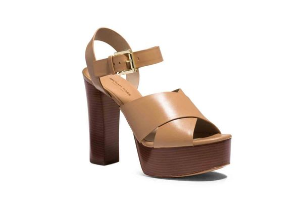 Dara Leather Platform Sandals