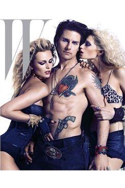 Tom Cruise for <em>W</em> magazine.