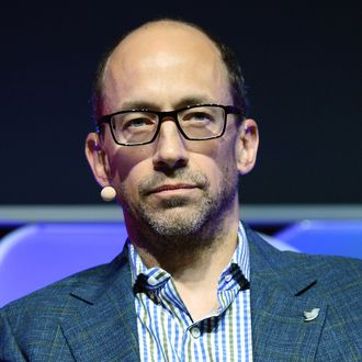 Twitter CEO Dick Costolo speaks during the Brand Matters keynote address at the 2014 International CES at The Las Vegas Hotel & Casino on January 8, 2014 in Las Vegas, Nevada. CES, the world's largest annual consumer technology trade show, runs through January 10 and is expected to feature 3,200 exhibitors showing off their latest products and services to about 150,000 attendees.