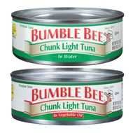Bumble Bee Warns 31,000 Cases of Tuna May Be Spoiled