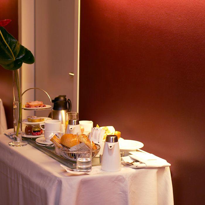 Despite exorbitant prices, hotels lose money on room service.