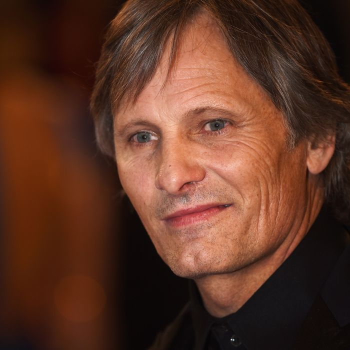 Noted hot person Viggo Mortensen