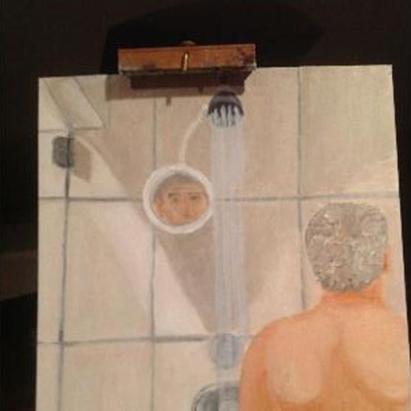 Amateur Shower Taking